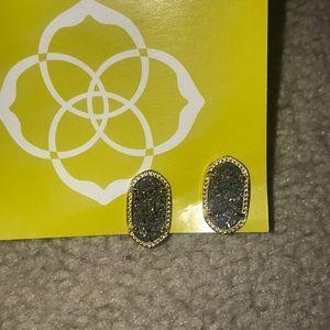 Kendra Scott Drusy Stone Earrings